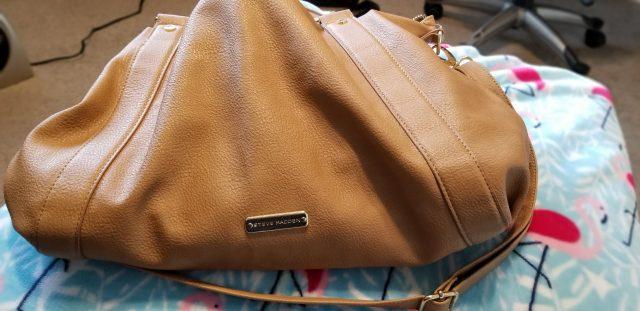steve madden crossbody brown purse