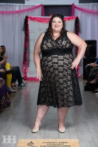 tishia lee plus size model curvy chic closet spring fashion show 2019